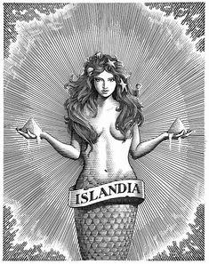Gorgeous Illustration of Mermaid