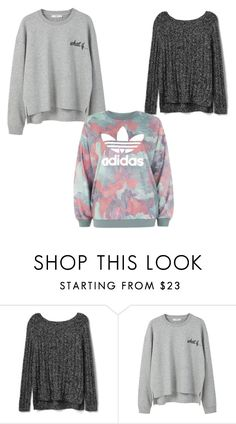 """Untitled #33"" by doradesign on Polyvore featuring Gap, MANGO and adidas"