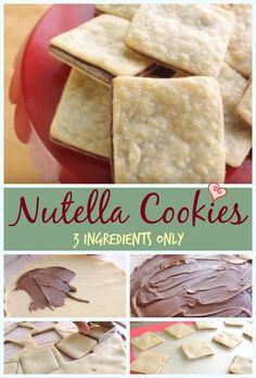 Nutella Cookies | Simply Bakings
