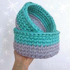 Crochet basket for modern interiors.#basket #вязанаякорзинка #ручнаяработа #подарокмалышу #оформлениедетской #forbaby #handmade #babyinterior  #декордетской #crochet #kidsroomdecor #modernkidroom #ручнаяработаминск #gift #giftidea #belarus