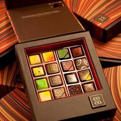 This 16 piece keepsake box includes mango lassi, pistachio kulfi, curry coconut, and earl grey tea.  [$40.00]....had them before, WORTH IT