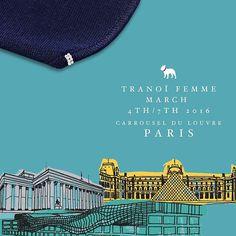 Capri Black Tie #AlwaysMineMilano #fashion #cashmere #fashionista #signature #tranoi #stylish  #gold #jewelry #madeinitaly #milano #vogue #elle #luxury #tranoishow  #parisfashionweek #fashiontradeshow #tranoifashion #tradeshow #autumnwinter1617 #paris #carrouseldulouvre #tranoifemme #pearls #tranoifemmeaw1617