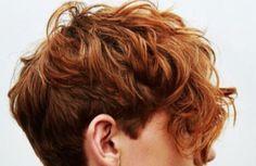 Red Hair Girl Anime, Red Hair Boy, Blonde Hair Boy, Short Red Hair, Dyed Red Hair, Boys With Curly Hair, Girls With Red Hair, Red Hair Color, Olgierd Von Everec