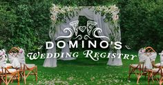 Domino's Wedding Registry Got Married, Getting Married, Storms, Wedding Things, Witch, Goodies, Fandom, Gift Ideas, Weddings