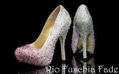 Rio Fuschia Fade Benjamin Adams Evening Shoes