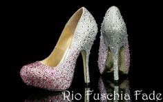 Rio Fuschia Fade Benjamin Adams Evening Shoes