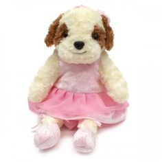 Take your cute ballerina Shih Tzu stuff toy and backpack in one anywhere. Toddlers and kids will surely cuddle with. They can even put their little things like brush, clips, or small toys inside to carry. Shih Tzu, Cuddle, Baby Shop, Baby Items, Ballerina, Cute Babies, Toddlers, Backpack, Teddy Bear