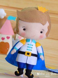 Pré-Venda Apostila Príncipe Cute - Feltro em Duas