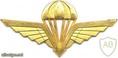 Norway Basic Parachutist wings, obsolete