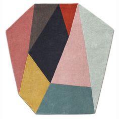 Tapis heptagone