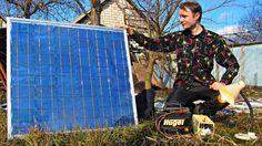 Солнечная электростанция своими руками 💡Подробная инструкция сборки, аль...