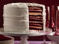 18-Layer Red Velvet Cake