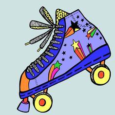 #illusrtatorsoninstagram #doodle #promarker #poscapens #art #rollerdisco #rollerderby #80s #80sfashion #fashion #editorial #magazine #adobeillustrator #Adobe #vector #graphicdesign #disco #popmusic #retro #oldskool #vintagestyle #coolkids #skatenerds #freelancers #brighton #woohoo *by Josie Deal