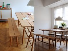 I would love a dining table like this one day, when we have the space.