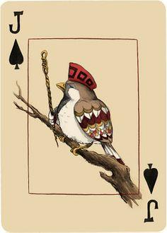 Hogwash & Nonsense: Cards: Spades