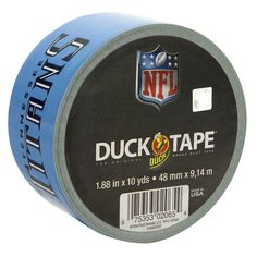 NFL Licensed Duck Tape® - Buffalo Bills need it! Tn Titans, Tennessee Titans, Tapas, Titans Football, Nfl Buffalo Bills, St Louis Rams, Duck Tape Crafts, Nfl Logo, Tampa Bay Buccaneers