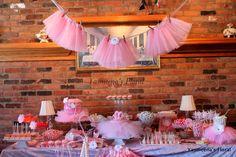 Yasmeena's Floral: Ballerina/Tutu personalized baby shower theme
