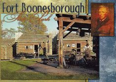 Fort Boonesborough, KY...we took school field trips here when i was in elementary school