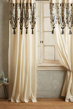 Curtains - Striped, Ruffled, Bohemian & More | Anthropologie