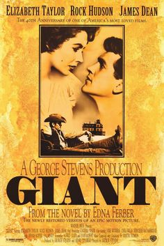Giant with Elizabeth Taylor and James Dean
