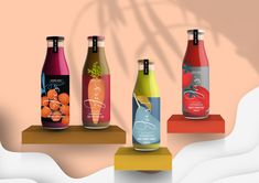 Juice & Lab on Packaging of the World - Creative Package Design Gallery