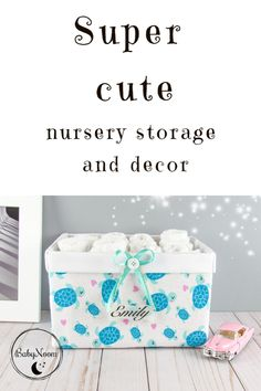 This adorable sea turtle basket could be a great gift for a baby shower. Make your baby's nursery happy and bright with this lovely sea turtle storage bin, by adding a spark of love to her room decor. Girl Nursery, Nursery Decor, Room Decor, Baby Storage Baskets, Boys Toy Box, Sea Turtle Decor, New Mom Gift Basket, Airplane Nursery, Diaper Caddy