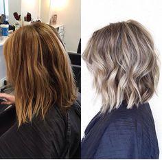 Medium Hair Styles, Curly Hair Styles, Brown Blonde Hair, Ash Brown Hair With Highlights, Work Hairstyles, Pinterest Hair, Hair Today, Fall Hair, Balayage Hair