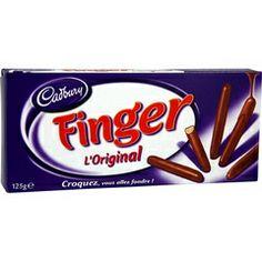 Finger de Cadbury