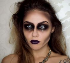Check out our favorite Frankenstein's girlfriend inspired makeup look. Embrace your cosmetic addition at MakeupGeek.com!