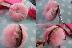 簡単DIY*ふわふわチュールで作るポンポンが可愛すぎて夢の世界♡にて紹介している画像