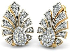 The Mayurakshi Earrings is a certified Diamond Earrings In Gold. Diamond Tops, Diamond Rings, Gold Rings, Fashion Jewelry, Women Jewelry, Jewelry Branding, Ring Designs, Jewelry Design, Rose Gold