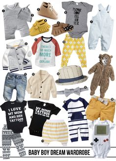 whoever said shopping for a baby girl was more fun never had a sweet little dude.-- full roundup with links at thecluelessgirl.com