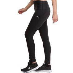 5a4077703 Leggings reducción celulitis fitness cardio mujer negro Shape Booster Domyos