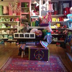 sally bazar shop display