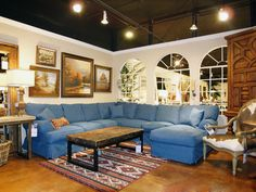 Classic Denim from Freed's Furniture