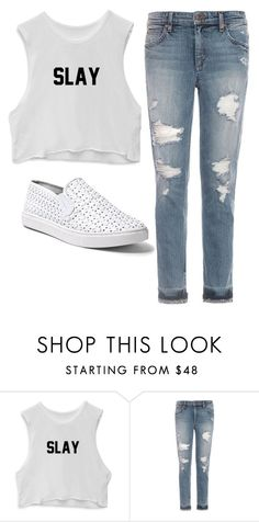 """""""#288"""" by blackwidow3 on Polyvore featuring Joe's Jeans and Steve Madden"""