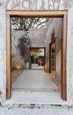 AS Arquitectura turns dilapidated Mexican hacienda into characterful resort Dezeen Architecture, Architecture Design, Grange Restaurant, Exterior Design, Interior And Exterior, Room Interior, Mexican Hacienda, Interior Design Minimalist, Outdoor Living