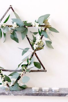 Floral Star - The Best Holiday Decor From Pinterest - Photos