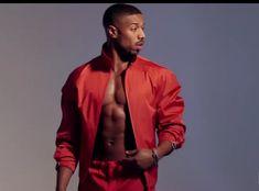 Love him♥️ Michael B Jordan Shirtless, Michael Bakari Jordan, Gorgeous Guys, Beautiful Men, Black Boys, Black Men, Zayn Malik Style, Best Villains, Man Crush Everyday