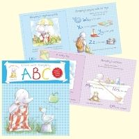 Humphreys Corner lift the flap board book, featuring Lottie and her brother Humphrey