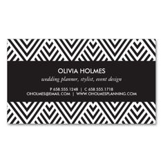 chevron business card digital file via etsy stationary and papers pinterest business cards filing and business - Chevron Business Card