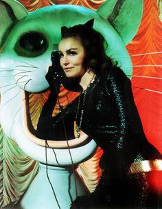 Julie Newmar as Catwoman in the Batman TV Series, 1960's
