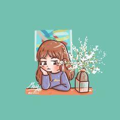 K Pop, Girls Characters, Disney Characters, Blackpink Poster, Fan Art, Kpop Fanart, Types Of Art, Art Inspo, My Arts