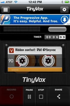 I have been on the receiving end of TinyVox and it was pretty neat.