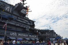 For anyone visiting San Diego, the USS Midway Museum is a wonderful destination for a family and would go on my must-see list!