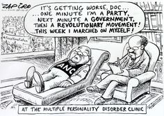 At the Multiple Personalty Disorder Clinic