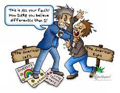 #politicalcartoon #cartoon #leftism #conservative #libertarian #progressivism #tolerance #sjw #socialjustice #peace #illustration #artist #leftorright