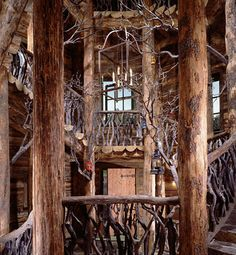 fantasy tree house in Telluride, CO