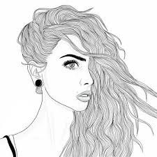 Image result for dessin fille swag