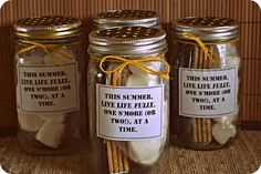 Angelas Adventures: Smores in a Jar-An easy and useful summer gift idea!